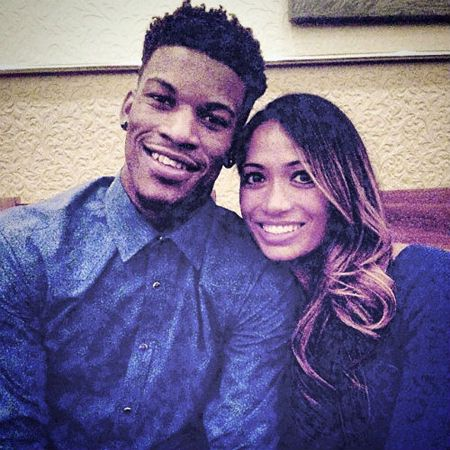 Charmaine Piula and Jimmy Butler were in a relationship in 2015.