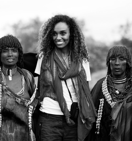 Gelila Bekele is from Ethiopia where she visits from time to time.