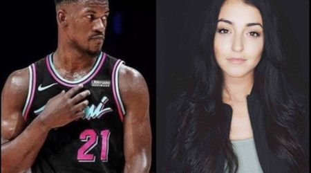 Jimmy Butler is a father after the birht of his child with rumored girlfriend Kaitlin Nowak.