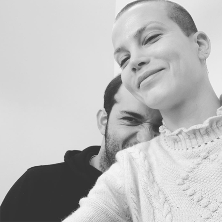 Boaz Kroon and Sylvia Hoeks are engaged.