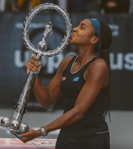 The WTA Tour win in Linz for Coco Gauff.