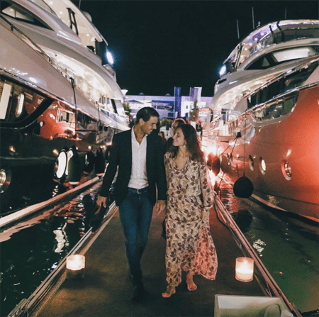 Rafael Nadal and Xisca Perello got married in Majorca.
