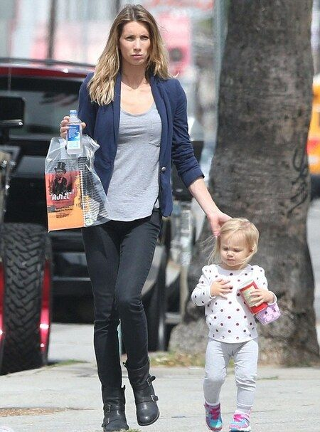 Jeremy Renner's ex-wife Sonni Pacheco with her daughter Ava.