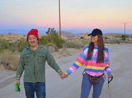 Husband and wife duo Khalyla Kuhn and Bobby Lee met on Tinder.