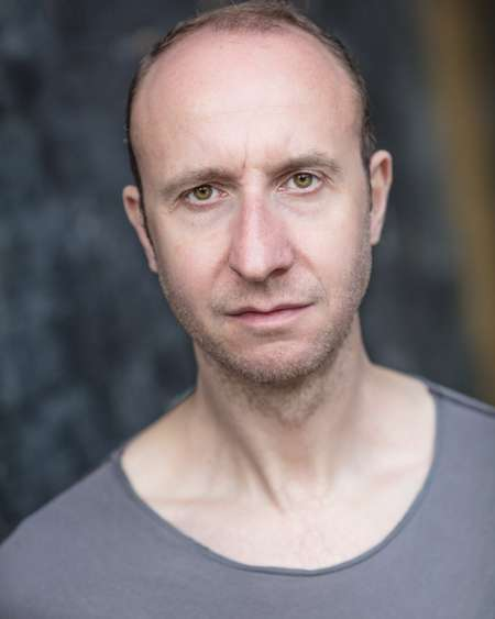 David Langham portrays the character of Father Garret in 'His Dark Materials'.