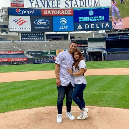 Gleyber Torres and girlfriend turned wife Elizabeth Torres are married since 2017.