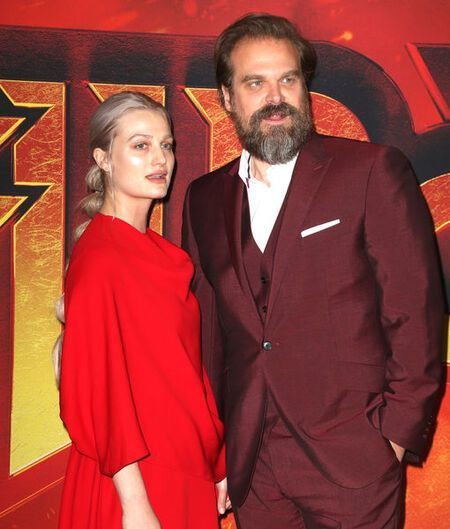 Alison Sudol and David Harbour became official girlfriend and boyfriend on 2019 Valentine's Day.