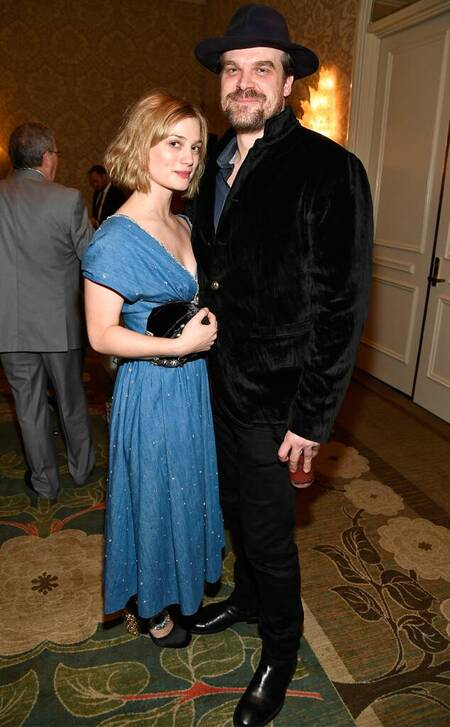 Alison Sudol and David Harbour split six months after making their relationship official.