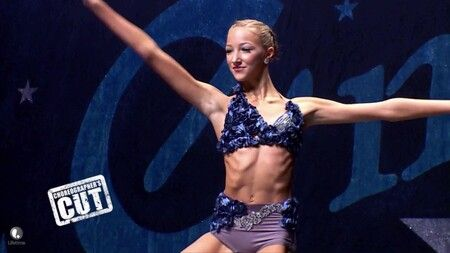 'Tall Girl' star Ava Michelle performing in 'Dance Moms'.