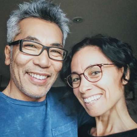 Hiro Kanagawa and his spouse Tasha Faye Evans support each other in every activity.