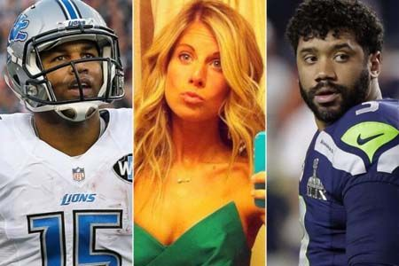 Aston Meem and Golden Tate were rumored to be in a relationship.