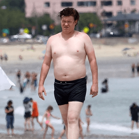Jesse Plemons gained weight for a role.