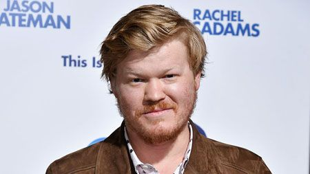 Jesse Plemons at the premiere of his movie.