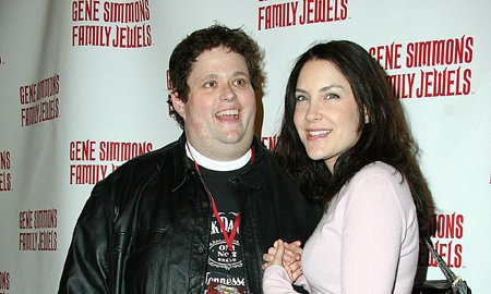 Lahna Turner and her husband Ralphie May.