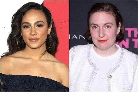 Aurora Perrineau was accused by Lena Dunham of lying about the assault.