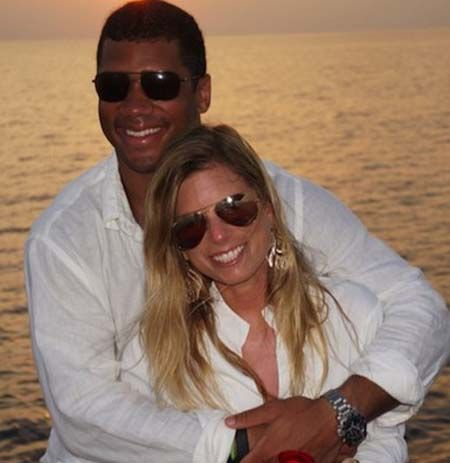 Ashton Meem and Russell Wilson got married after college.