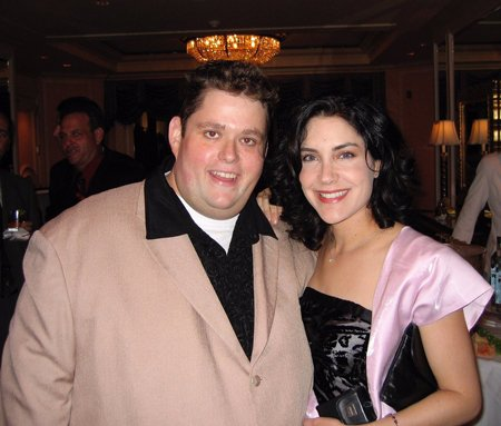 Lahna Turner and Ralphie May met during a Houston open mic.