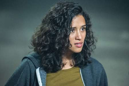Yadira in the show Supernatural playing her double role in the series.