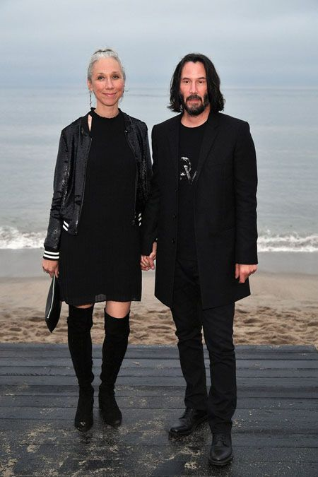 Alexandra Grant and Keanu Reeves met in 2011 but only started dating this year.