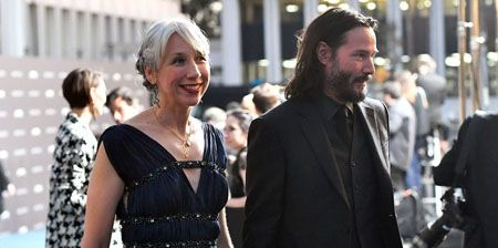 Alexandra and Keanu made their red carpet debut on 2 November 2019.