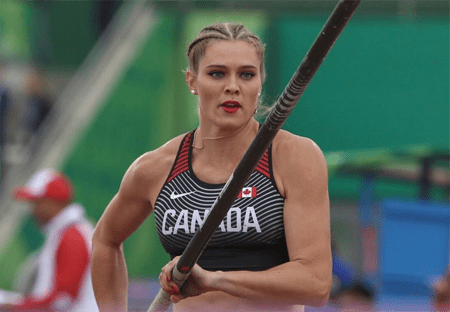 Alysha Newman is focusing on her training for the Olympics next year.