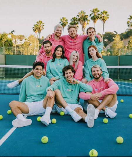 David Dobrik and his friends are always together in the videos on YouTube.