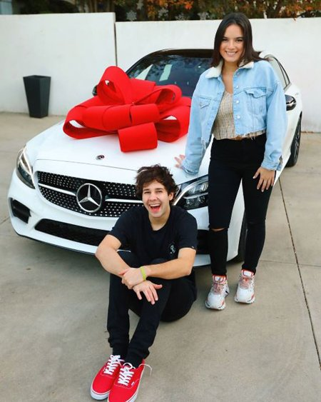 David gifted Natalie a car for her birthday.