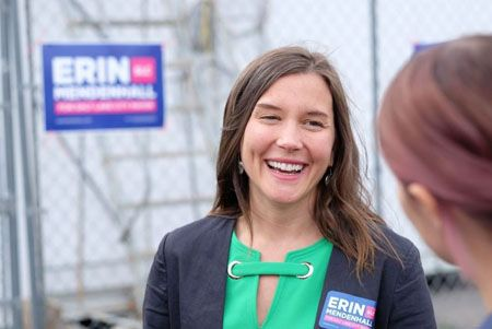 Erin Mendenhall took up public office for her battle against air pollution.