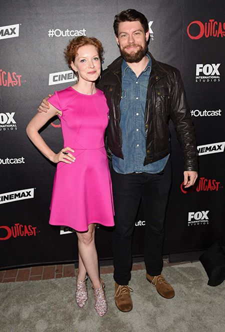 Wrenn Schmidt was involved in a nude scene on the series Outcast.