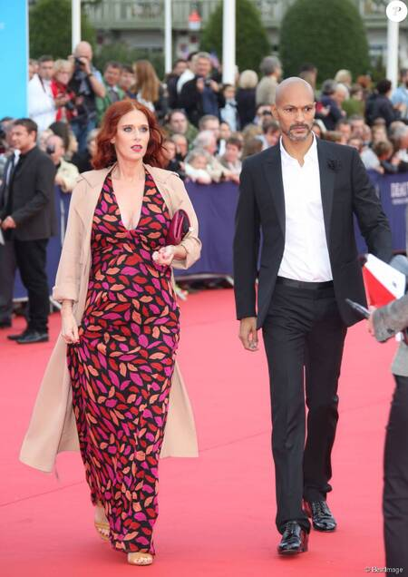 Audrey Fleurot is dating her partner Djibril Glissant.