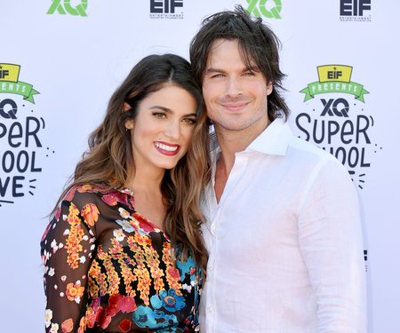 Ian Somerhalder is married to his wife Nikki Reed since 2015.