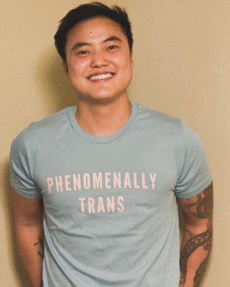 Leo Sheng is a transgender since he was 12.