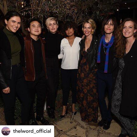 The cast of 'The L Word: Generation Q.'