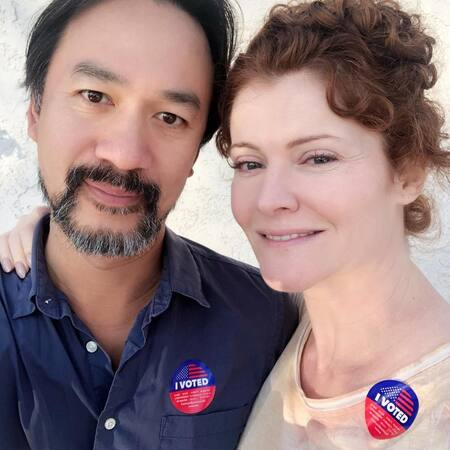 Rebecca Wisocky is married to her husband Lap Chi Chu.