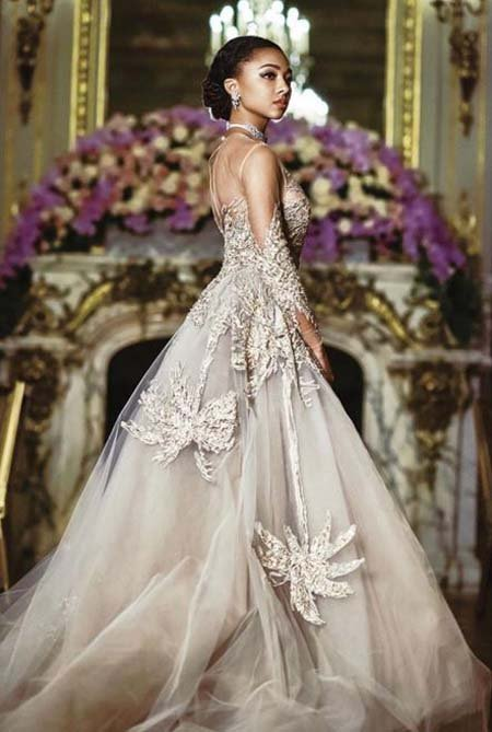 Juliet Gordy was invited to the Le Bal Debutante ball in France.