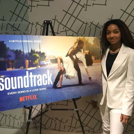 Juliet Gordy plays the character of Leah in Soundtrack Netflix series.