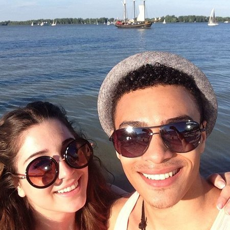 Alyssa Marina and Gabriel Darku are in a relaionship for about seven years now.