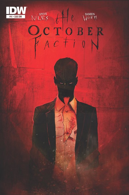 Merle Cope will be the villain in October Faction season 2, according to the creator of the series.