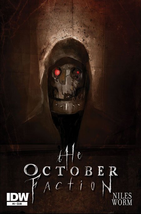 October Faction season 2 will probably dive into the mystery of Robot Face.