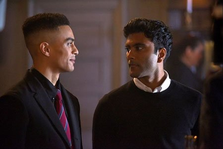 The relationship between Geoff Allen and Praneet Akilla's character Phillip Mishra was all the hype in Netflix series October Faction.