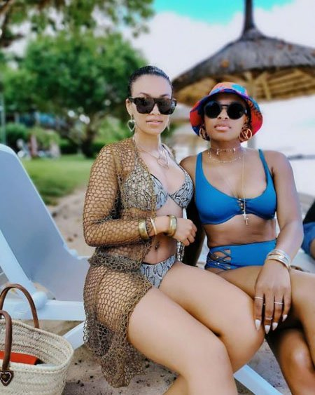 Pearl Thusi and Zinhle Jiyane seem to be close to one another though it is not clear if they are dating.