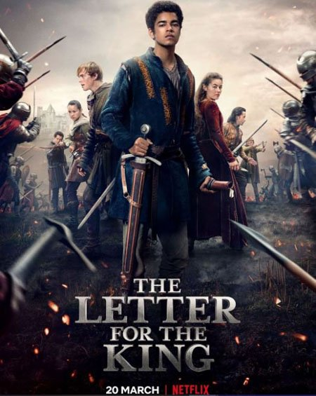 Islam Bouakkaz plays Arman in the Netflix series The Letter for the King.