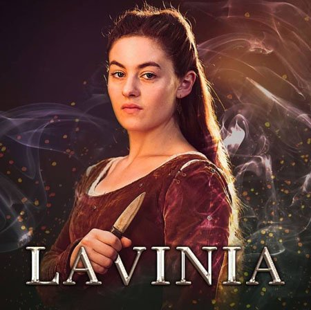 Ruby Ashbourne Serkis plays Lavinia in the Netflix series The Letter for the King.
