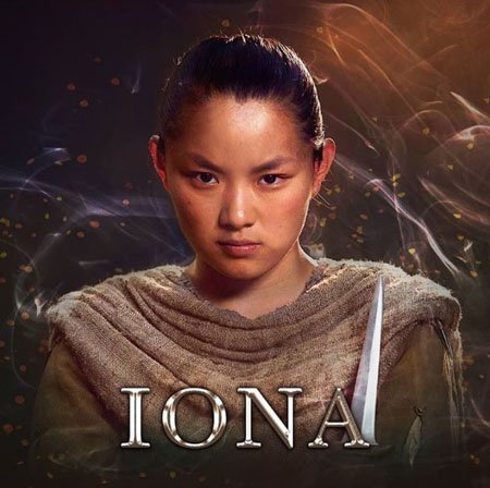 Thaddea Graham plays Iona in the Netflix series The Letter for the King.