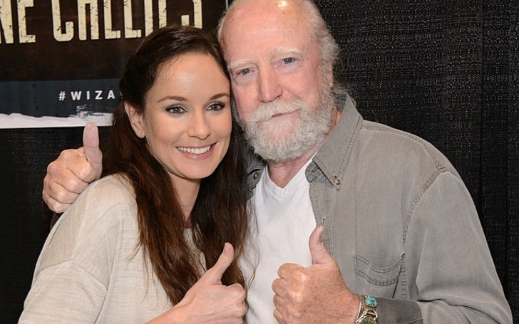 Sarah Wayne Callies' Council of Dads Performance Inspired by the Death of The Walking Dead Co-Star Scott Wilson