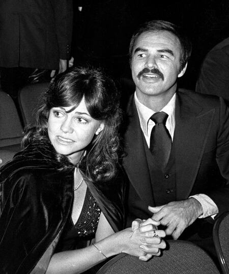 Sally Field and Burt Reynolds were in a relationship during the 70s.