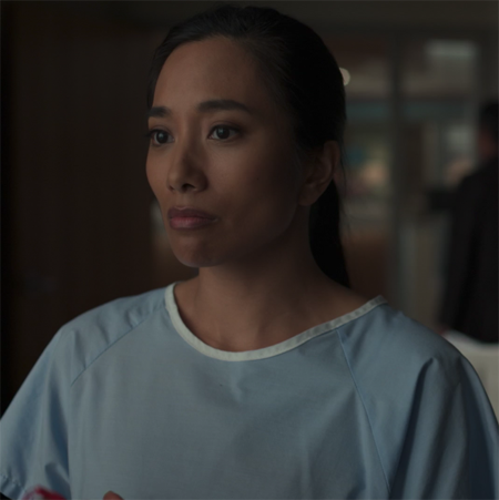 Donna Benedicto played an astronaut in the hit sereis The Good Doctor.
