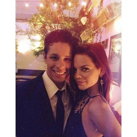 David Del Rio and Katie Wallace stumbled across each other at a birthday party.