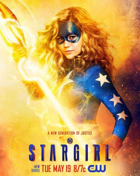 Brec Bassinger plays Courtney Whitmore/Stargirl in The CW series Stargirl.