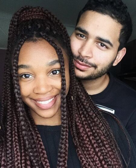 Khosi Ngema is in a dating relationship with her boyfriend JeanLuc Goodall.